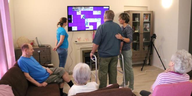 Senioren testen VR-Spiele